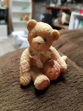 Cherished Teddies Oscar October Bear Sweet Treats Halloween Figurine