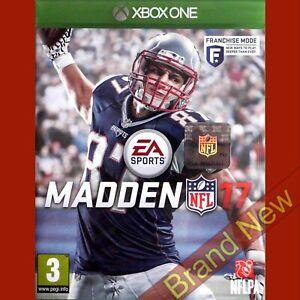 MADDEN NFL 17 - Xbox ONE ~ PEGI 3 Brand New & Sealed!