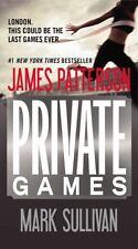 Private Games James Patterson Mark Sullivan London Thriller Paperback