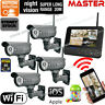 DIY Outdoor Security Cameras Wireless IP CCTV Home Video Surveillance Systems
