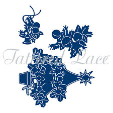 Tattered Lace Cutting Dies THE MAGIC OF CHRISTMAS TREE & STAMP SET ETL344