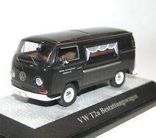 Premium Classixxs, VW T2a Bestattungswagen, Leichenwagen Hearse, schwarz, 1/43