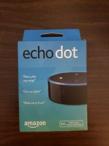 Echo Dot (2nd Generation) - Smart speaker with Alexa - Black (NEW) No Reserve!