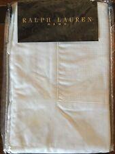 Ralph Lauren Home Collection Euro Pillow Sham White New! Orig $195
