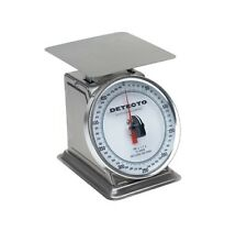 Detecto Pt-500Srk 500-Gram Capacity Stainless Steel Loading Rotating Dial Scale