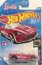 2018 Hot Wheels HW SCREEN TIME Barbie '14 CORVETTE STINGRAY 1:64 PINK