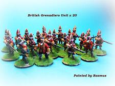 French & Indian War - British Grenadiers Unit x 20