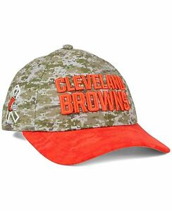 Cleveland Browns New Era NFL Women's Salute to Service 9TWENTY Cap