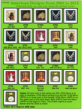 American Designs Includes all 10 Coil Pairs - VF  MNH Pg-87B