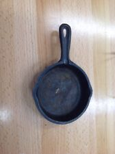 Vintage Cast Iron Toy Salesman Sample Mini Miniature Frying Pan Skillet 4""