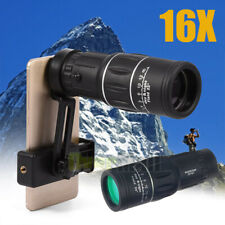 NEW WATERPROOF 16X52 HIGH DEFINITION MONOCULAR TELESCOPE-BAK4 PRISM FOR WIL