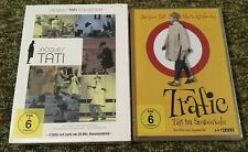 Jacques Tati Dvd Lot Collection & Trafic Region 2 / PAL French German Deutsch A4