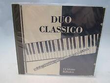 CD Duo Classico Ben Serano 12 Balladen Querflöte Flöte Klavier Neu ovp