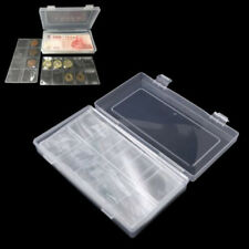 100Pcs Paper Money Album Holder Currency Banknote Case Storage Collection Box