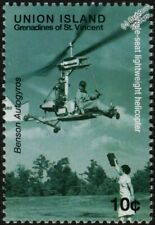 BENSEN AUTOGYRO Gyrocopter Lightweight Helicopter Aircraft Stamp