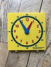 """Learning Resources Big Time Student Learning Clock - 12 Hour - LER 2095 5""""x5"""""""