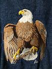 Al Agnew BOAST U.S.A. denim varsity sports jacket American eagle XXL Patriotic