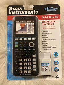 TI-84 plus CE Texas instrument calculator