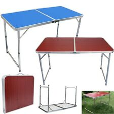 Aluminium Adjustable Folding Table Outdoor For Camping BBQ Picnic Party