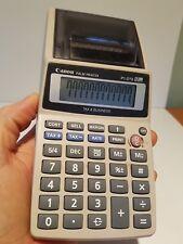 Retro Canon Palm Printer P1-DTS 12 digit tax & business calculator handheld