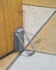 12- Pak SAFETY RELEASE FLIP DOWN DOORSTOPS  FREE SHIPPING