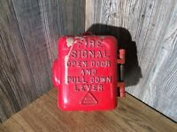 Vintage Edwards 1872 Fire Alarm Cast Fire Alarm Box K9
