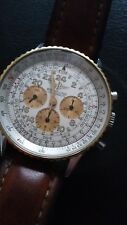 A fine Breitling Navitimer 1 Chronograph 41 steel and gold