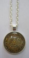 Halskette Maya Kalender  Necklace Inka Azteken 102