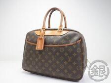 """Sale"" AUTH PRE-OWNED LOUIS VUITTON MONOGRAM DEAUVILLE COSMETIC CASE BAG M47270"