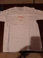 Senor Frog's Aruba, T-Shirt Embroidered Senior Frogs on front Sz M-white