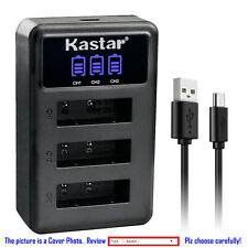 Kastar Battery 3 Channel Charger for NP-BX1 & Sony Cyber-shot DSC-WX350 Camera