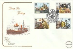 23 SEPTEMBER 1981 FISHING COTSWOLD FIRST DAY COVER RNM ABERDEEN SHS