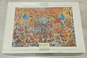 3000 piece puzzle, 'The Thousand and One Nights' - Gabor Szittya, 1997 - Rare!