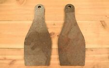 """AR500 1/2"""" American Steel Shooting Targets 5""""x12"""" Bowling Pin Set Of TWO"""