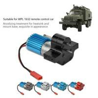 Speed Change Gear Box Metal Gearbox W/ 370 Common Motor for WPL 1632 RC Car#^