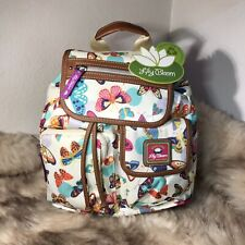 Lily Bloom Riley Butterfly Twister Backpack