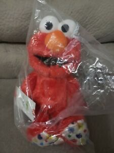 "NEW Sesame Street Isaac Mizrahi Elmo 14"" Plush Toy from Macy's"