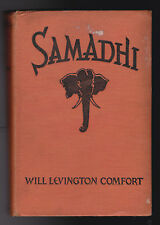 Will Levington Comfort - Samadhi - SIGNED by Author, 1st/1st 1927 - Lost Race