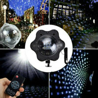 Snowflake Projector LED Laser Lamp Outdoor Waterproof Light Party Snow Decor