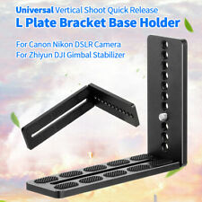 BGNING Universal Vertical Shoot Quick Release L Plate Bracket Base Holder