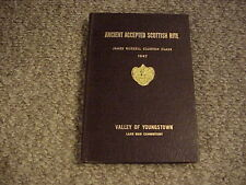 Ancient Accepted Scottish Rite 1947 / James Clinton Class / Valley of Youngstown