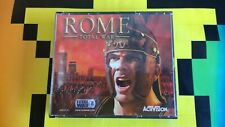 PC  ROME TOTAL WAR VIDEO GAME FREE POSTAGE