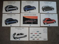 PEUGEOT 306 SEDAN orig 1994 UK Mkt Sales Brochure + Insert Folders etc