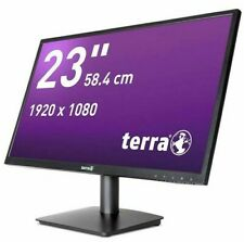 "Terra LED Full-HD Monitor / TFT-Bildschirm  2311W 58,4cm (23"") schwarz HDMI VGA"