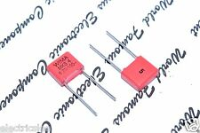10pcs - WIMA MKS4 0.22uF (0,22µF 220nF) 100V 5% pitch:7.5mm Polyester Capacitor