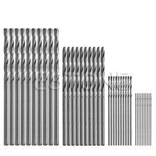 40Pcs Mini Drill 0.5mm-2.0mm HSS Bit Straight Shank PCB Twist Drill Bits Set