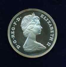 G.B./U.K./ENGLAND ELIZABETH II  1980 25 NEW PENCE PROOF SILVER COIN
