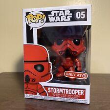 Funko Pop! Stormtrooper (Red) Target Exclusive Star Wars Disney #5