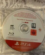 God of War 3 Remastered Sony PlayStation 4 promo disc NEW with free WW shipping!
