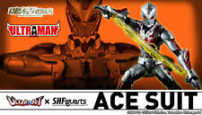 Japan P/BANDAI Action Figure ULTRA ACT x S.H.Figuarts ULTRAMAN ACE SUIT